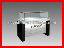 Wooden Glass jewelry display stand