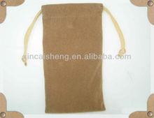 Soft flocking case/gift or phone bag