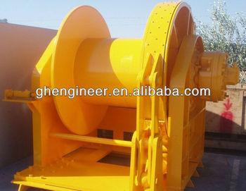 40t hydraulic winch