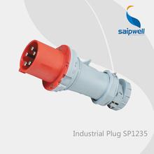 2014 CEE/IEC IP44 3P+N+E(5P) Electric Waterproof Industrial Plug SP1235