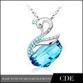 2014 joyería de moda collar, collares de cristal de la joyería