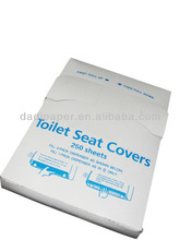1/4 fold disposable toilet seat paper cover