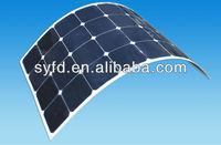 Flex Solar Panel 100W Sunpower (TUV ,MCS ,UBNS,IEC,ROHS)