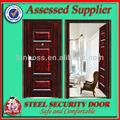 نوعية جيدة lbs-8820 الأمن الخارجي باب الفولاذ المقاوم للصدأ الأبواب الحديدية المزدوجة