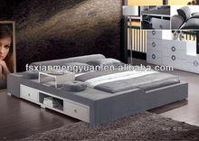 morden bedroom soft new design super fabric bunk bed B26