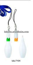 LU-7104 promotion bowling shape pen
