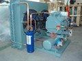 compresor de refrigeración de condensación para equipos de cámaras frigoríficas