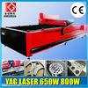 500W 650W 800W YAG Laser Cutting Machine for Metal Sheet/Tube