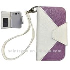 12028 New fashion genuine mobile phone leather case.