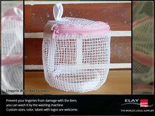 Lingerie wash bag foldable