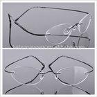 Rimless titan wholesale eyeglass frame