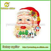 christmas 3d screen door sticker,branded christmas ornaments