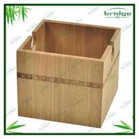 Rectangular bamboo ikea storage bins