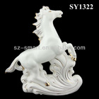 ceramic horse sculpture home decorations