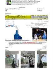 Pba Fiba Standard Basketball Fiberglass Board