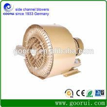 Regenerative blower powder transport system