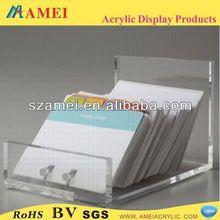 hot customized acrylic products/acrylic envelope holder