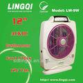 Ventilador de emergência recarregável/min luz condicionador de ar para carro