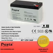 Sealed Lead acid ups battery 12v 7ah in storage batteries
