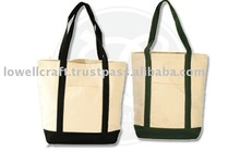 green recycle promotional cotton tote bag