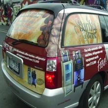 Fashionable Car Deco Sticker Printing