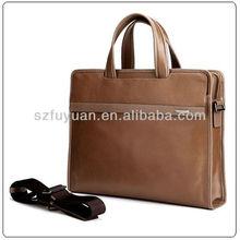 shoulder tote real leather men bag