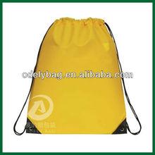 210D nylon drawstring bag/string bag/drawstring backpack