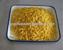 2013 nueva cosecha en lata dulce de maíz de grano