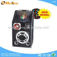 NEW high-quality portable speaker with laser light,disco ball,big subwoofer karaoke,USB,SD,DJ,recharge battery