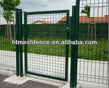 Welded Fence Gate Powder-coated wide vision/easy to install