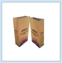 3 layer kraft paper plastic bag for charcoal packing/10kg pp charcoal bag