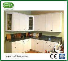 Modern white Solidwood Cabinets Door