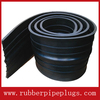 Extrusion controlled water stop expansion joint