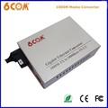 Convertidor de medios de fibra / media converter / de fibra óptica de extremo a extremo rj45 convertidor de medios