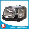 201-200-010 alta calidad toyota hiace van 2011 autobuses min reconfigurar led de cristal de la lámpara de la cabeza de la lámpara de auto