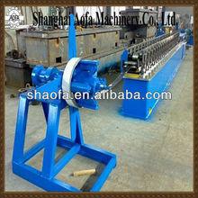 color steel zinc market shutter door roll forming machine