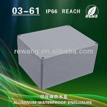 small aluminum box