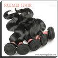 5a 100% grade vierge brésilienne de cheveux tissent à la mode et bottes pour femmes noires