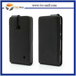 Vertical PU Flip Leather Case for Nokia Lumia 520