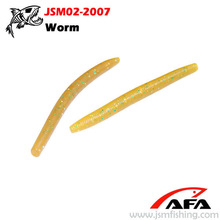 soft long worm lure,plastic fishing lure,fishing gear JSM02-2007
