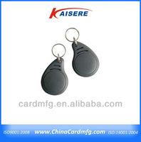 Custom made pvc keychain/rfid keyfob
