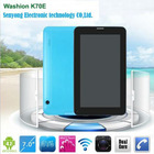 7'' dual camera phone call tablet Dual core 2G GSM module android 4.2