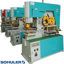 iron worker machine, Q35Y- Series Hydraulic Steelworker Machine, metal sheet plate steel bending punching notching machine