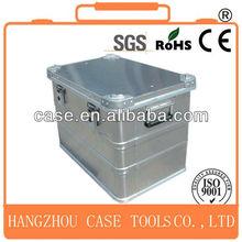 waterproof shockproof aluminum case,aluminum die case,silver high quality aluminum case