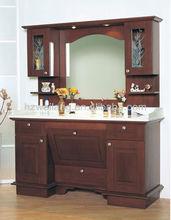 Italian hot sell antique solid wood bathroom cabinet MJ-2160