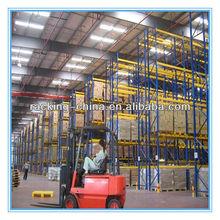 Industrial rack storage