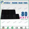 monocrystalline 80 Watt 18v solar battery charger kit