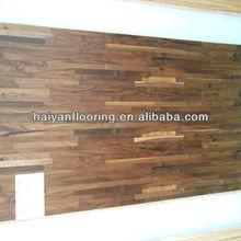 Suelo de tarima flotante de madera de nogal americano piso de madera