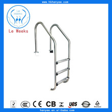 easy set 304/316stainless steel swimming pool ladders decorative made in china