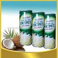 jóvenes de coco verde agua de bebida de proteína
